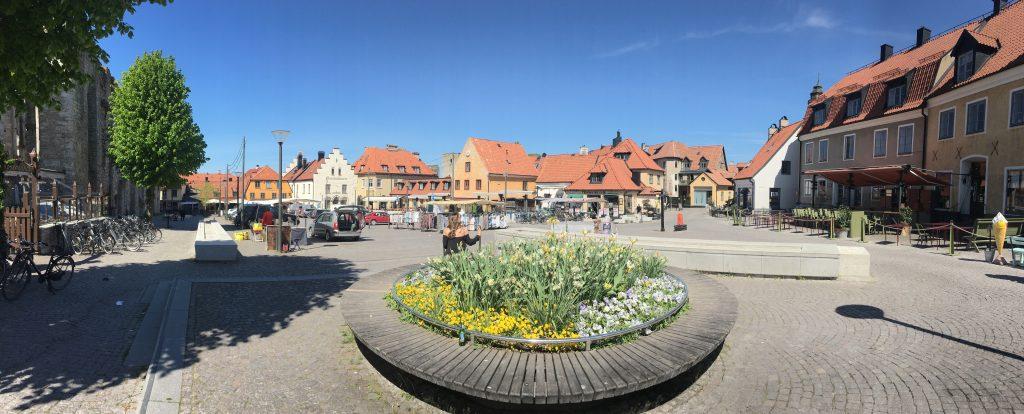 By sentrum, Visby Gotland Sverige