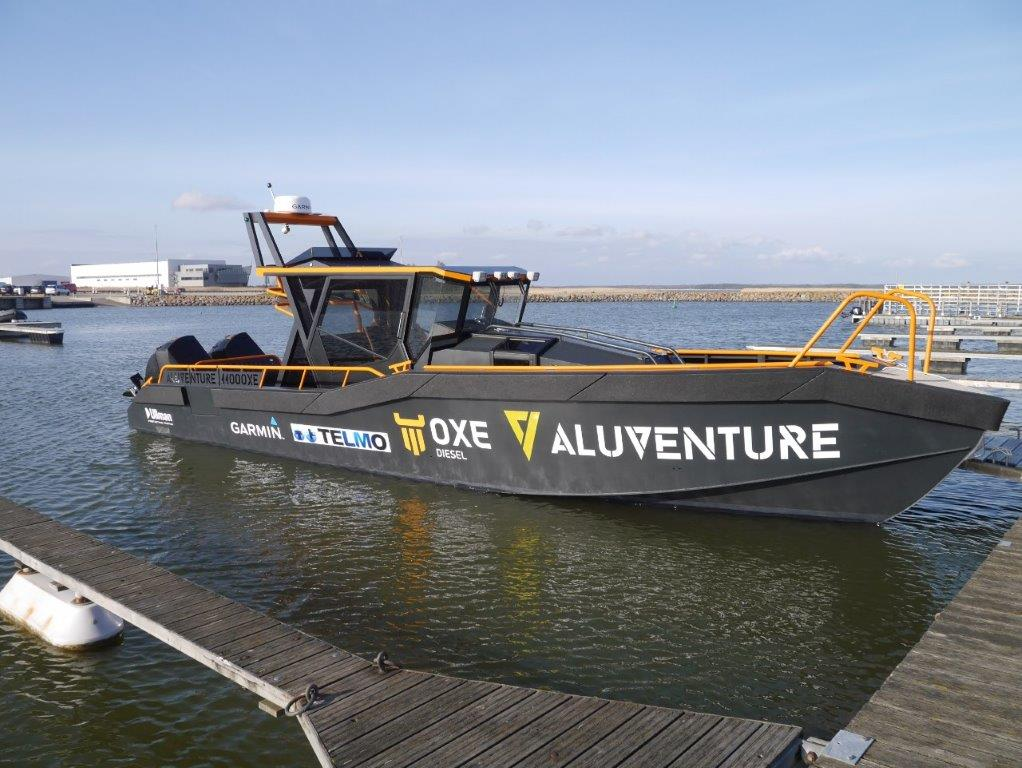 AluVenture 11000 XE Demobåt i Roomassaare Havn