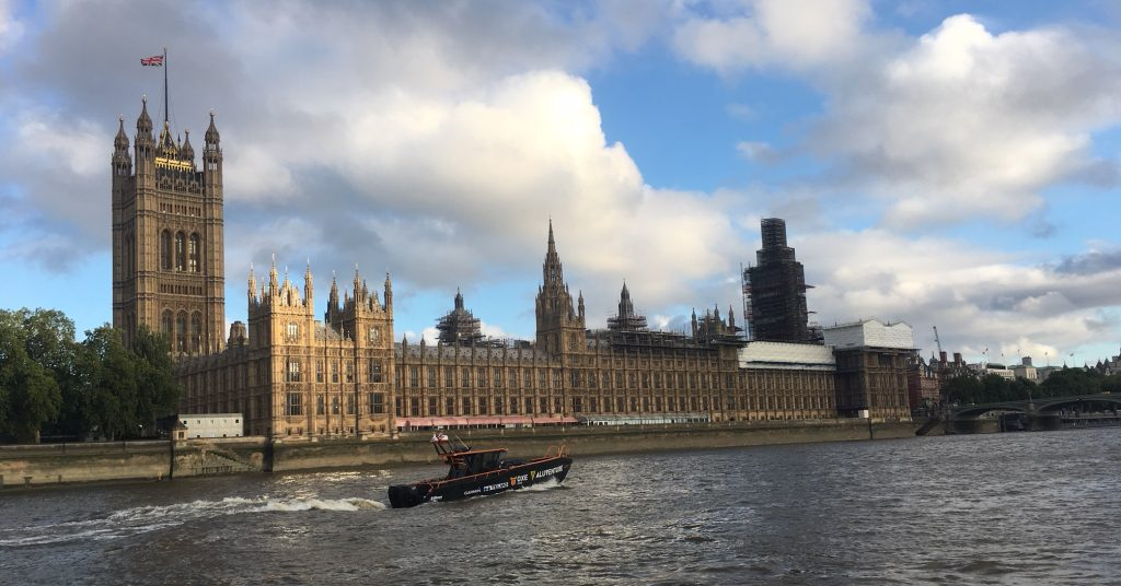 Westministerpalaset i London