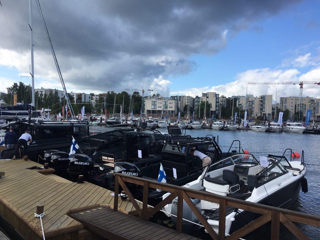 Hele fem forskjellige XO båter
